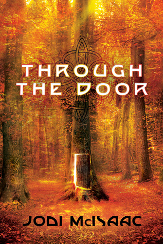 through the door